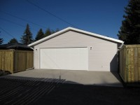 Double Garage Offset Door calgary
