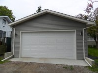 garage construction overhead door calgary